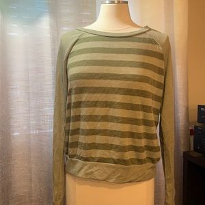 Buy 2 items for &10 Striped long sleeved top
